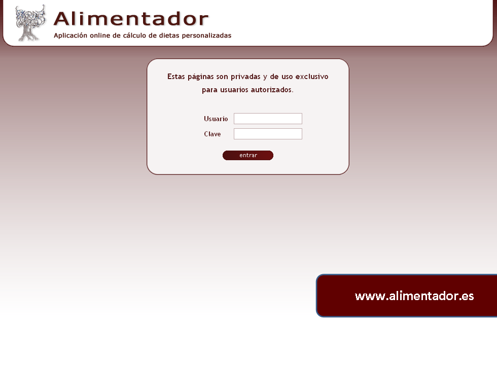 generador dietas online gratis